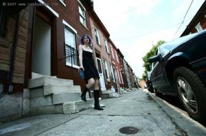 Stoya in the Ghetto, Philadelphia