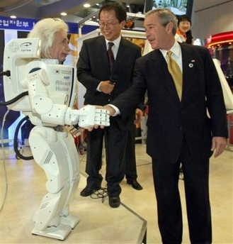 einstein-robot